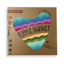 O.B. Designs Ripple Blanket - Rainbow
