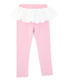 Curious Wonderland Princess Leggings - Pink (LAST ONE LEFT - SIZE 2 YEARS)
