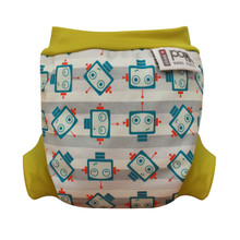 Pop-in Swim Nappy - Robot (LAST ONE LEFT - SIZE SMALL)