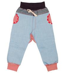 Oishi-m Diamond Daze Harem Jeans - Big (LAST ONE LEFT - SIZE 5-6 YEARS)