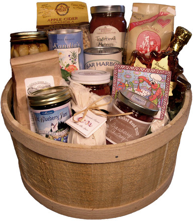 This grouping of culinary delights and gifts is sure to bring the luscious tastes and smells of Maine to anyone's kitchen.
