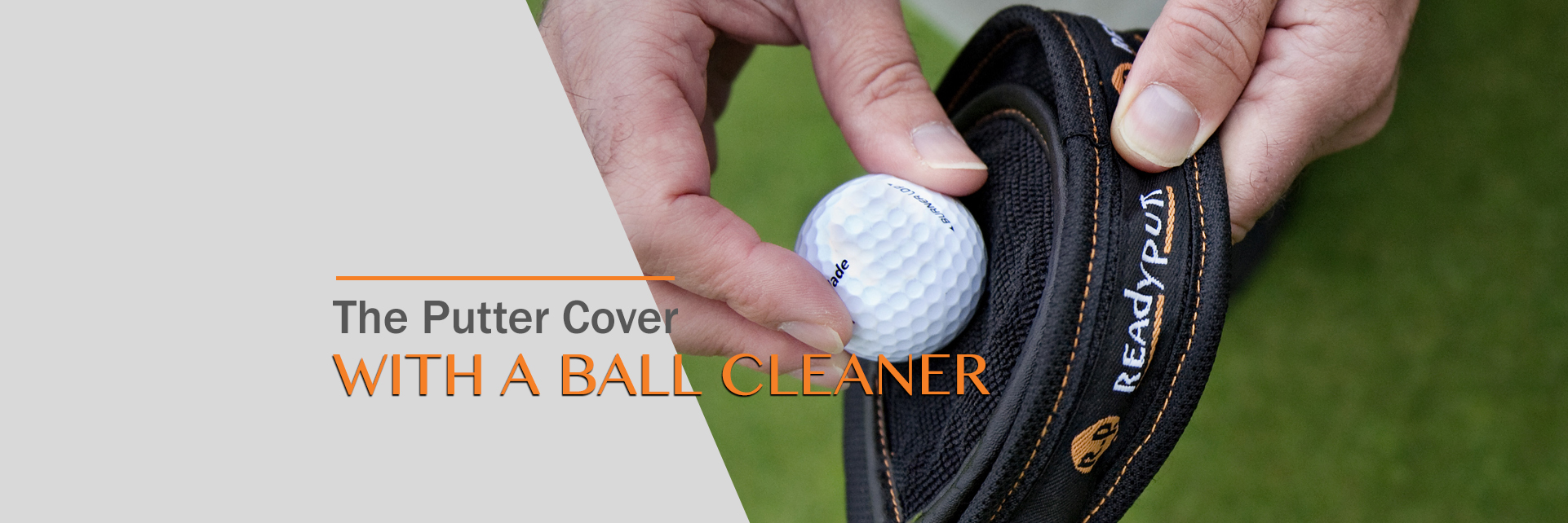 The Putter Cover With A Ball Cleaner