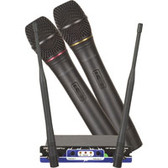 VocoPro VM-1 Optional 2 Channel Wireless Microphone Module with 2 Microphones