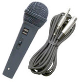 Audio2000's ADM1062 Corded Microphone, entry level cardiod dynamic microphone