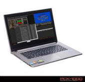 Touch Laptop with PCDJ Karaoke Software and 4000 Karaoke Songs with Lyrics on Screen at a Great Price!