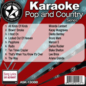 ASK-1308B AUGUST 2013 POP AND COUNTRY