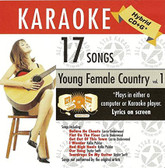 Country Karaoke: Young Female Country, Vol. 1 (ASK-1552)