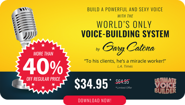 The Ultimate Voice Builder helping you build a more powerful voice.