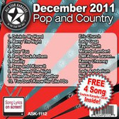 ASK-1112 DECEMBER 2011 POP AND COUNTRY