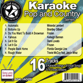 ASK-1402B FEBRUARY 2014 POP AND COUNTRY