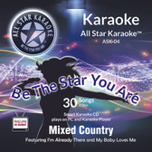ASK-04 - Karaoke Mix Country, Tim McGraw and many more