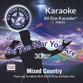 ASK-55 - Karaoke Mix Country, Shelton, McGraw & many more
