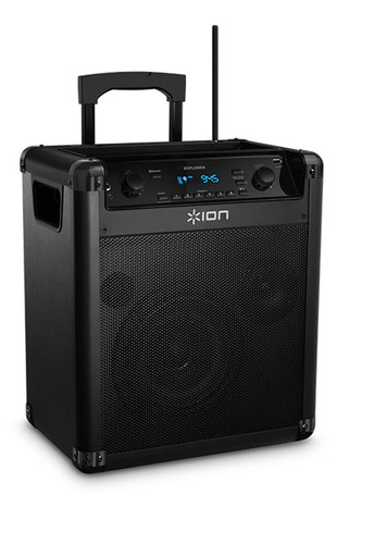 ION Block Rocker Explorer Bluetooth Wireless Speaker with Microphone and Bonus Free Christmas Karaoke CDG (A $65.00 Value)