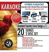 ASK-101 Karaoke Greatest Country Love Songs