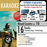 ASK-822 All Star Karaoke: Mixed Country 16