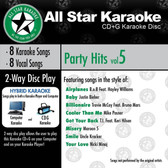 All Star Karaoke Party Hits Vol. 5 (ASK-827) (ASK-827)