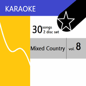 Mixed Country Volume 8 Karaoke (ASK 60)