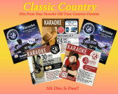 Classic Country - Hits from Your Favorite Outlaws (5 CD's - 129 songs)