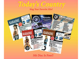 All Star Karaoke - Today's Popular Country Hits  (5 CD's - 96 songs)