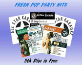 Mixed Pop Value Pack - Fresh Pop Party Hits - (5 CD's - 107 Songs)