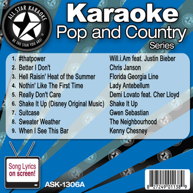 All Star Karaoke Pop and Country Featuring Hell Raisin' Heat of the Summer and Nothin' Like The First Time