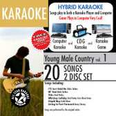 All Star Karaoke Young Male Country Vol. 1 ASK-105