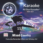 ASK-1517 - Karaoke Country Hits, Style of Chesney, Jackson & more