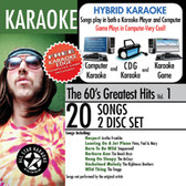 All Star Karaoke The 60's Greatest Hits Vol.1 ASK-102