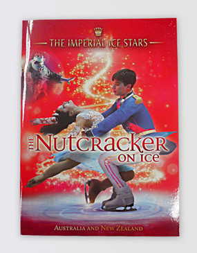 Nutcracker On Ice Souvenir Program