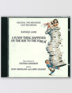 A Funny Thing Happened on the Way to the Forum CD