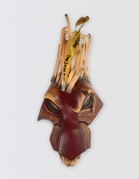 Lion King Scar Mask Ornament