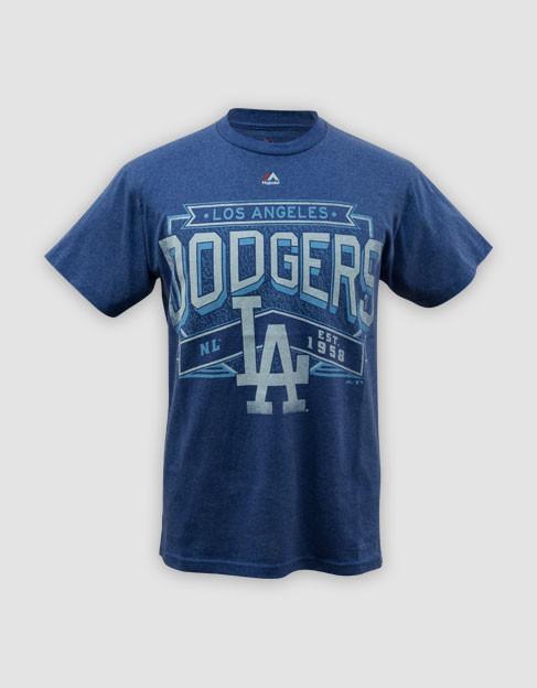 d86d76818 MLB LA Dodgers Mens Unassisted Tee - Playbill Pty Ltd