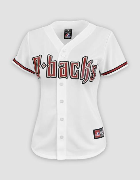 ae4dd4c71 MLB Arizona Diamondbacks Ladies Replica Home Jersey. Your Price   40.00  (You save  60.00). Image 1
