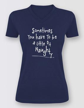 Matilda Naughty Tee Ladies