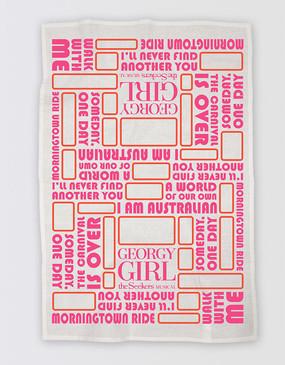 Georgy Girl Tea Towel
