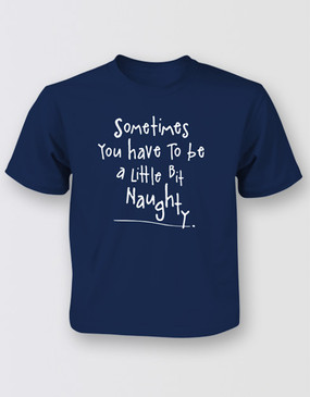 Matilda Naughty Tee Kids