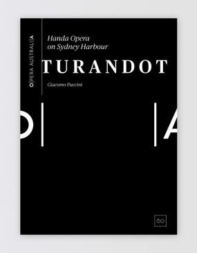 HOSH Turandot Souvenir Program