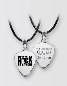 We Will Rock You Plectrum Necklace