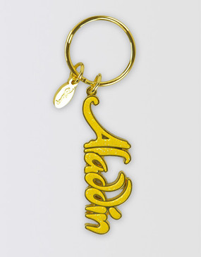 Aladdin Logo Keyring
