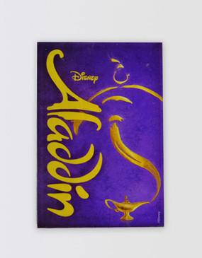 Aladdin Lucite Magnet
