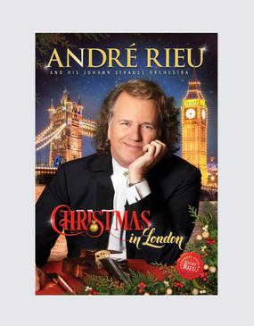 André Rieu: Christmas in London DVD