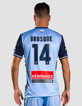 Sydney FC 17/18 Puma Youths Home Jersey - Customised
