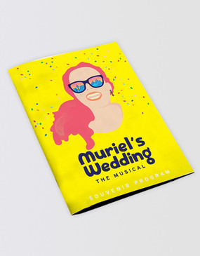 Muriel's Wedding Souvenir Program [PRE-ORDER]