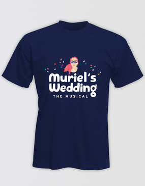 Muriel's Wedding Unisex Logo T-Shirt