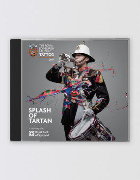 The Royal Edinburgh Military Tattoo 'Splash of Tartan' 2017 CD