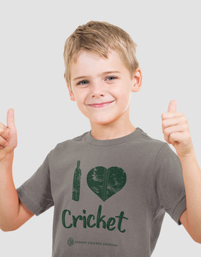 SCG Kids I Love Cricket Tee