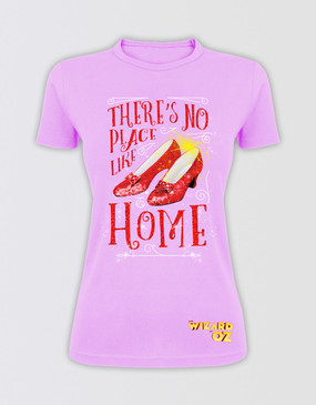 "The Wizard of Oz Kids ""There's No Place Like Home"" Glitter T-Shirt"