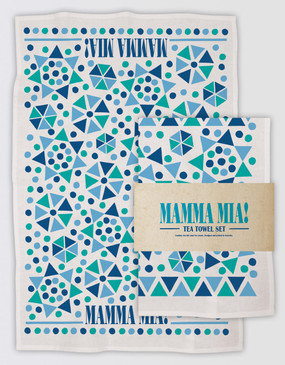 Mamma Mia! Tea Towel Set