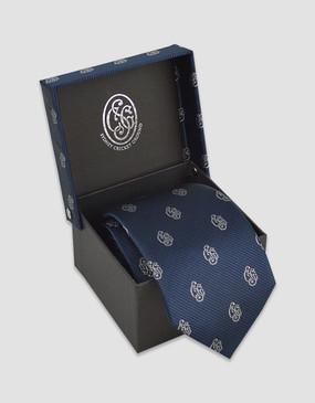 SCG Heritage Logo Navy Tie