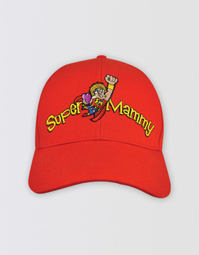 Mrs Brown's Boys 2018 Red Baseball Cap - Super Mammy